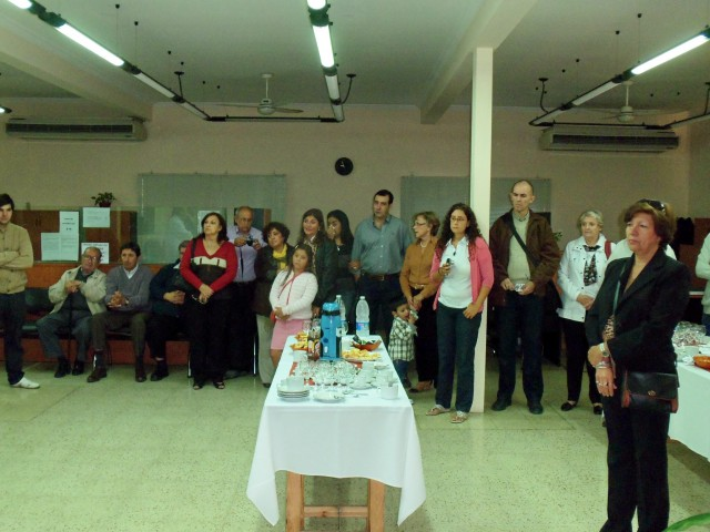 2013-03-16 - HOMENAJE DR. HAIEK. FAMILIARES Y AMIGOS. MUSEO MEDICO STA. FE