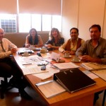 2013-05.13 - REUNION MINISTERIO EDUCACIÓN.  Dipaolo, Landaman, Imhoff, Fabricius y Fontanesi. Santa Fe