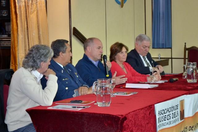 APERTURA.  Cantini, Soria, Henn, Tomei y De Lorenzi