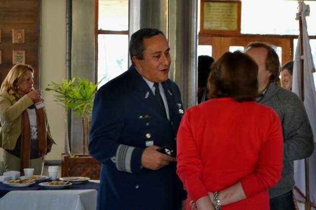 AUTORIDADES. Soria, Tommei y Fernando Leva