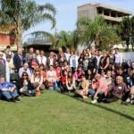 40 - Fotografía de los participantes en el Ingreso a Villa Ocampo