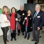 PAUSA. Imhoff, González, Zaeta, García y De Lorenzi
