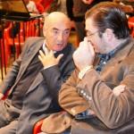 PAUSA. Int. Bacalini e Int. electo Sarazola.