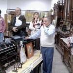 VISITA AL MUSEO TOSTICARELLI. Expone el Sr. Evaristo Aguirre.
